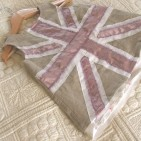 ITSY DO union jack pinafore dress