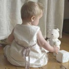 ITSY DO Host at Home Sewing Workshop Christening pinafore dress
