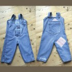ITSY DO Sewing Workshop recycled jeans dungarees
