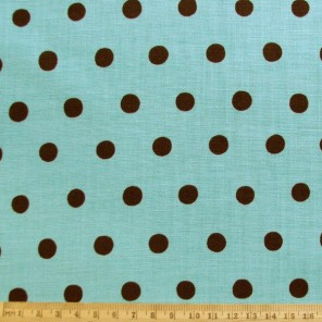 Gorgeously quirky colour combination on rich cotton fabric