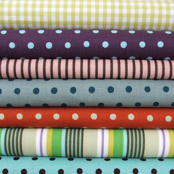 Spots, Stripes and Checked Fabric